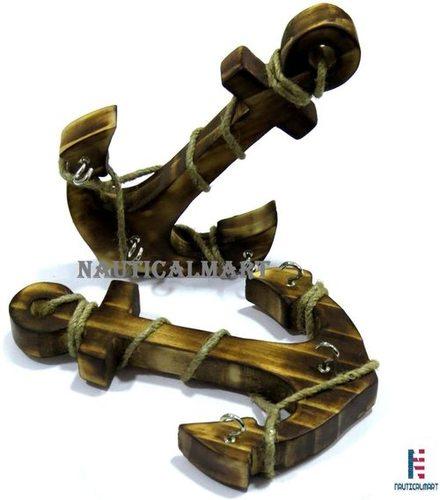 Brass Ship Bell & Anchor
