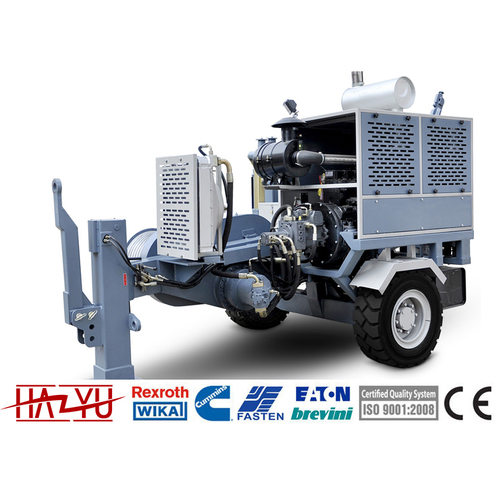 TY90 Stringing Equipment 90kN Puller Machine For Overhead Stringing