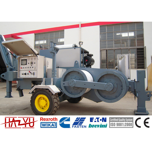 TY180 Transmission Line Stringing Equipment Puller Machine For Overhead Stringing