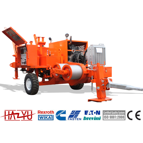 TY30D Transmission Line Stringing Equipment Puller Machine For Overhead Stringing