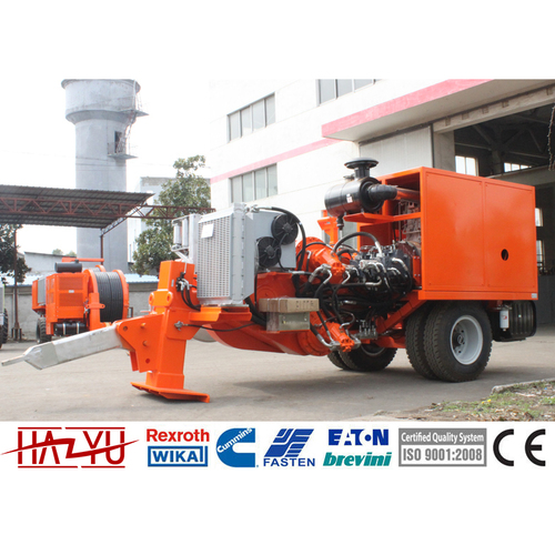 TY380 Stringing Equipment Hydraulic Puller Machine For Overhead Stringing