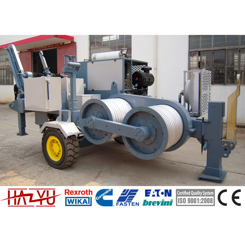 TY160 Max Intermittent Pull 160kN Hydraulic Puller Machine For Overhead Stringing