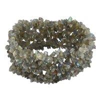 Labradorite Gemstone stretchable Bracelet PG-155823