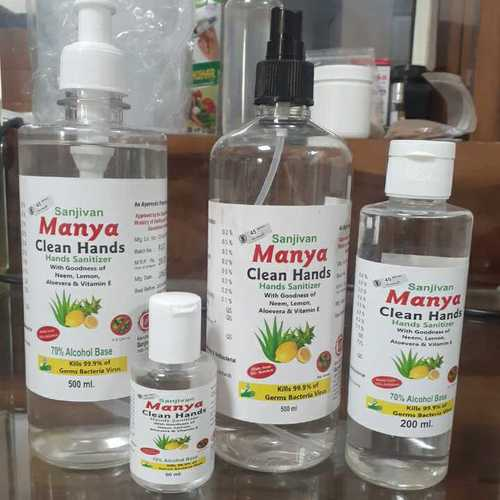 Manya Clean Hands Sanitizer