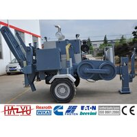 TY140 140kN Cummins Engine Hydraulic Puller Machine For Overhead Stringing