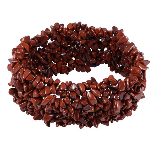 Red Jasper Gemstone stretchable Bracelet PG-155825