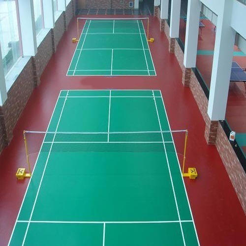 Synthetic Badminton Court Flooring Services