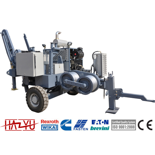 TY60 Stringing Equipment Puller Machine For Overhead Stringing