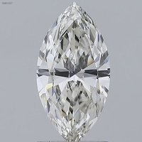 CVD 1.10ct H VS1 Diamond IGI Certified Lab Grown Marquise Brilliant Cut