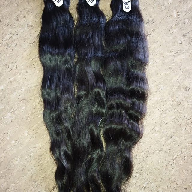 MACHINE WEFT LONG HAIR