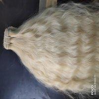 REMY WAVY MACHINE WEFT HAIR