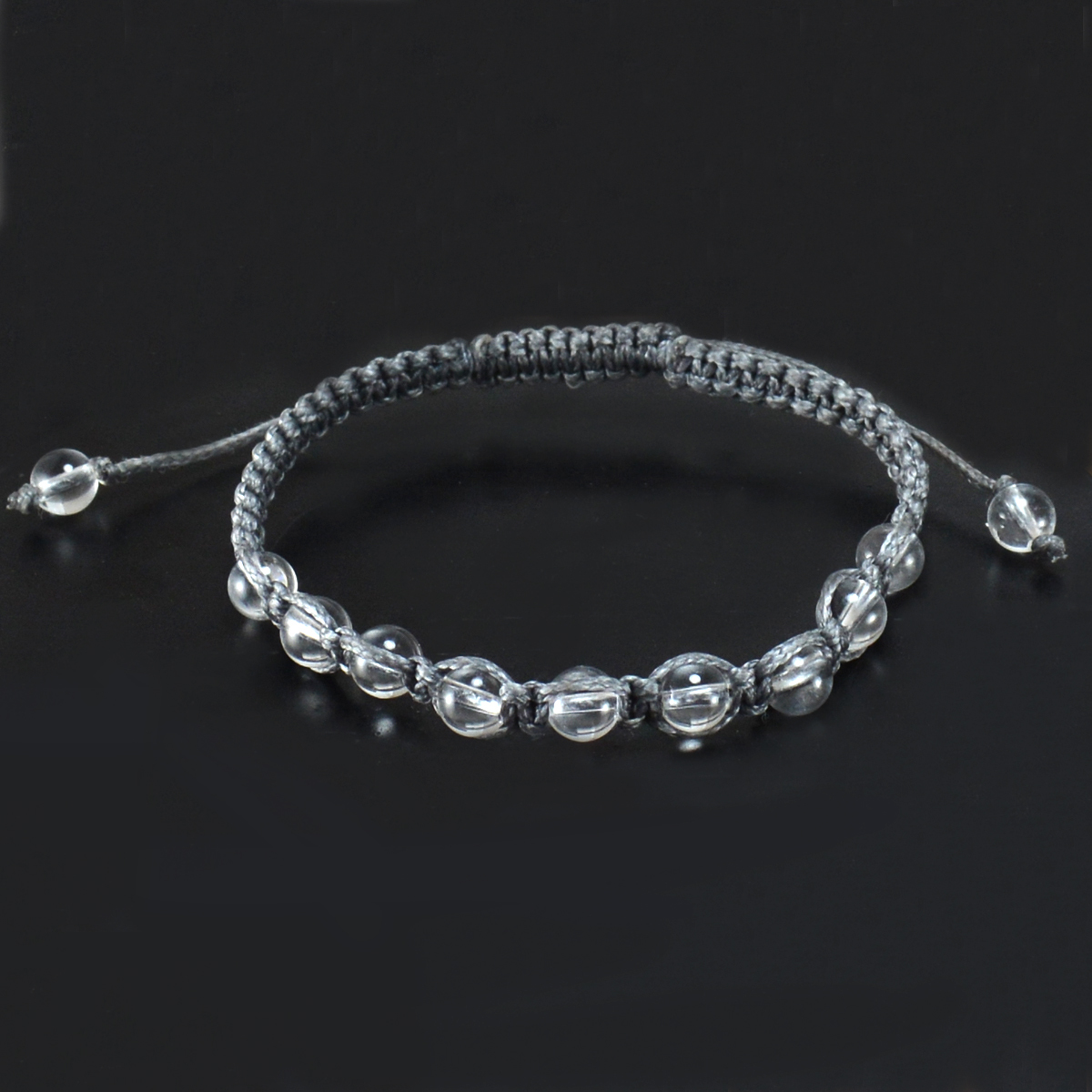 Crystal Quartz Gemstone Bracelet PG-155844