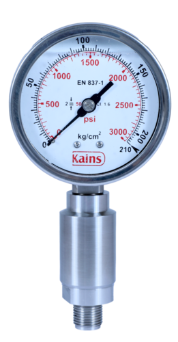 High Pressure Diaphragm Gauges