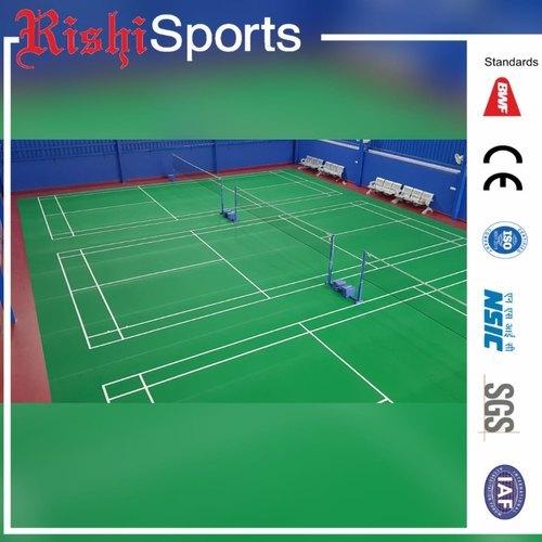 Indoor Badminton Courts PVC Flooring
