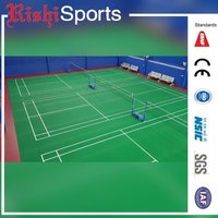 Indoor Badminton Courts PVC Flooring