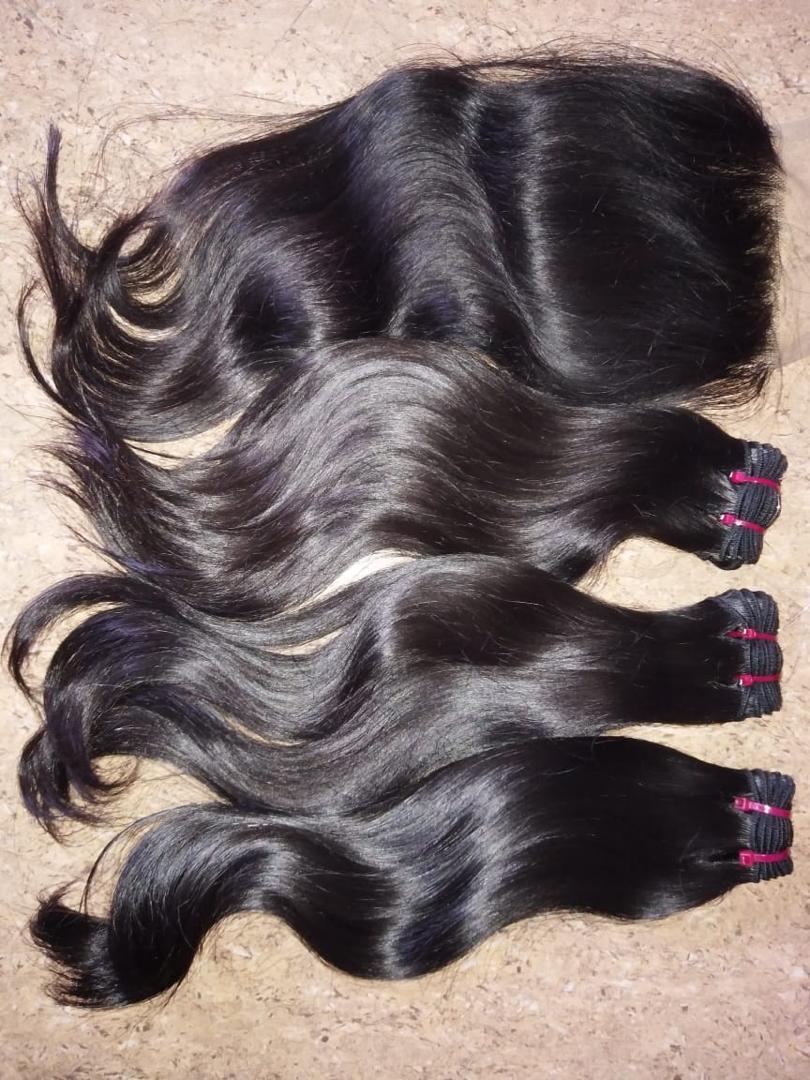 100% HUMAN HAIR WEAVE