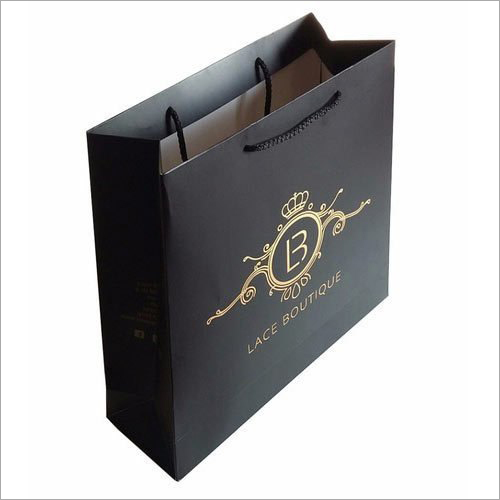 Rectangular Printed Paper Carry Bag