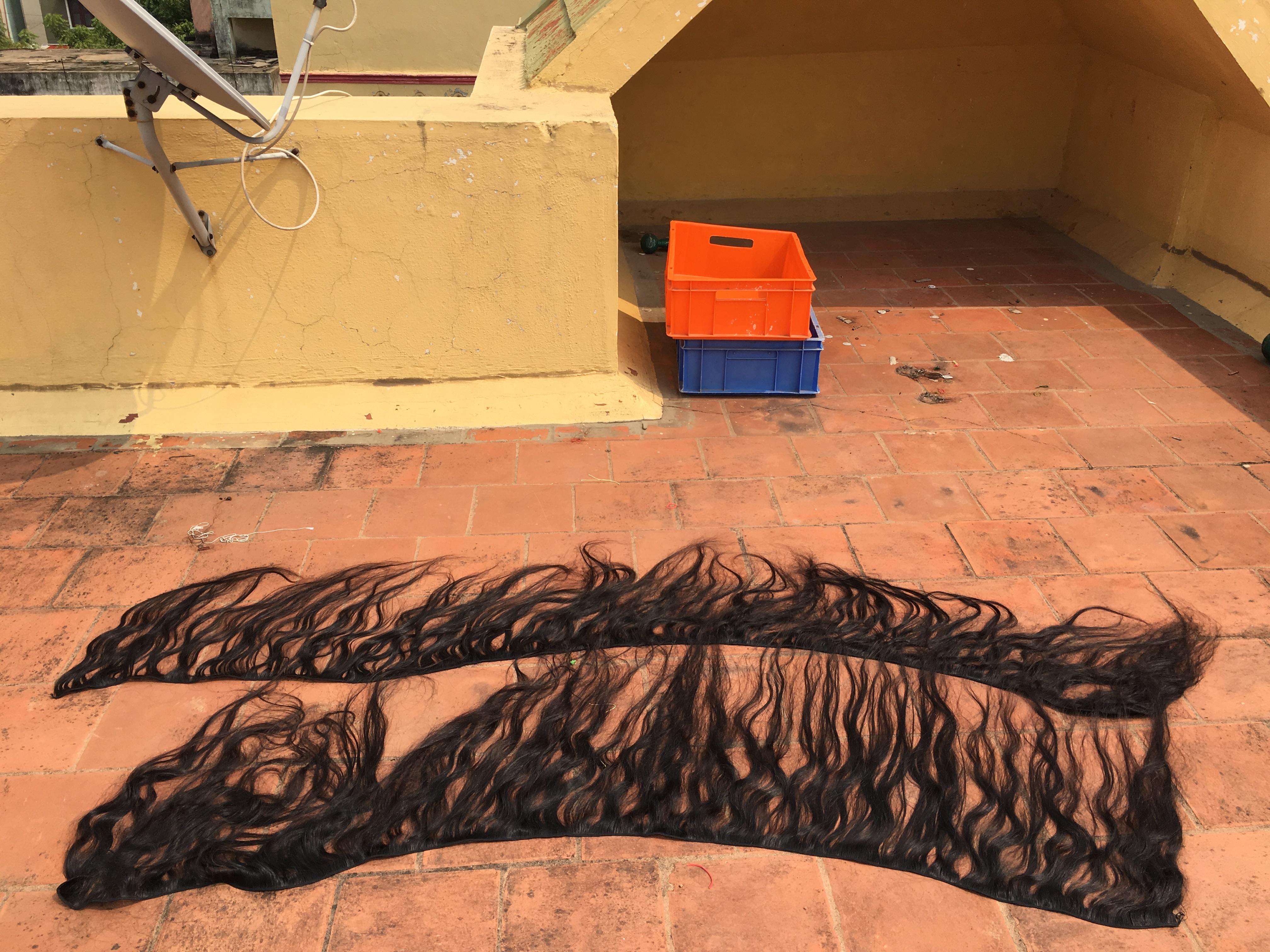 100% human hair extensions
