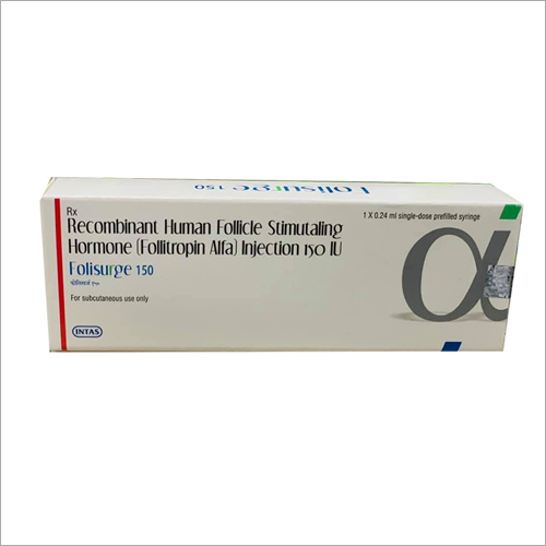 Recombinant Human Follicle Stimutalling Hormone  Injection