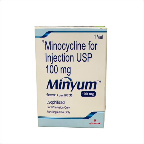 100 mg Minocycline For Injection USP