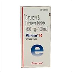 600 mg 100 mg Darunavir And Ritonavir Tablets