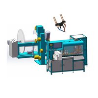 Automatic Power Cord Cutting Stripping Crimping Machine