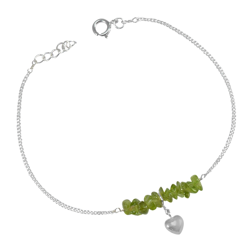 Peridot  Single Piece Anklet PG-155870