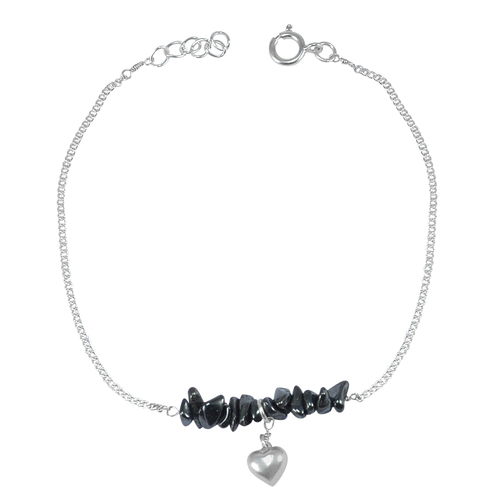 Hematite Single Piece Anklet PG-155876