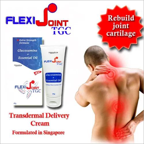 Flexijoint Tgc (Glucosamine Cream) Application: For Healthier Joint And Rebuild Cartilage