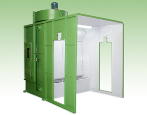 Dry filter Paint Spray Booths
