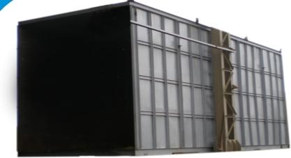 Blast Room Enclosure