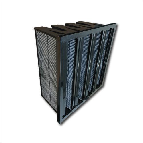 V-Bank Filter In Plastic Frame