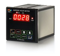 Ampere Hour Meter With Current Limit for Rectifier Control While Battery Charging