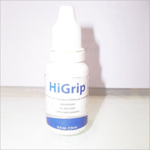 Hi Grip Waterproof Oil Resistant Co-Polymer Adhesive 15 Ml