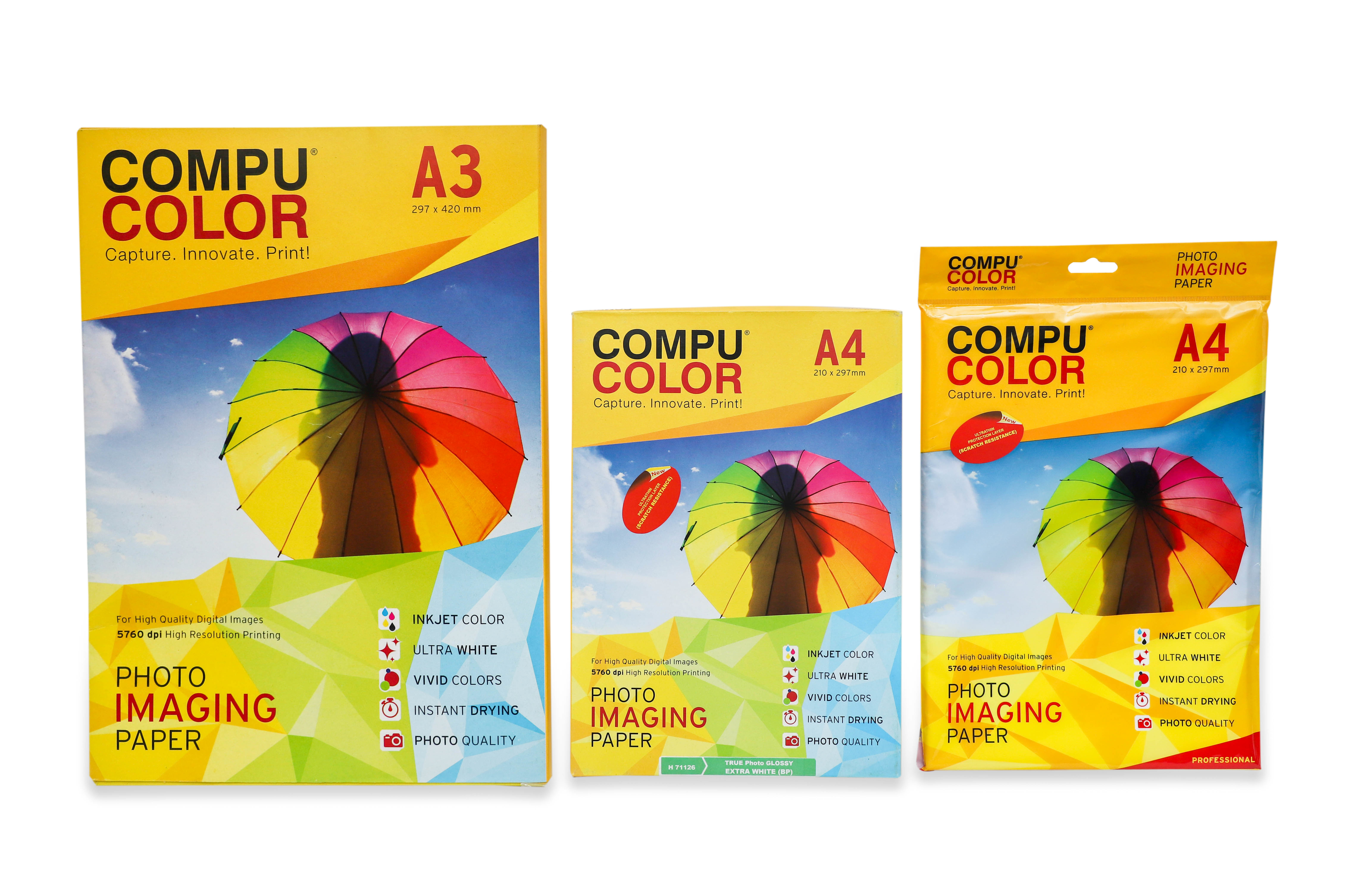 COMPU COLOR Photo Imaging Paper Glossy 270 gsm (A4) 50 sheets