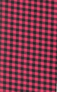 Yarn Dyed Poly Check (Rani/Black)