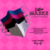 Printed Cotton Masks