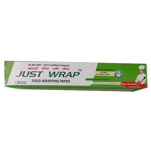 Just Wrap Food Wrapping Paper (100 percent Organic Paper)