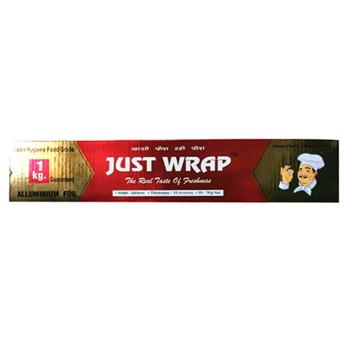 1kg Extra Hygiene Food Grade Just Wrap Aluminium Foil
