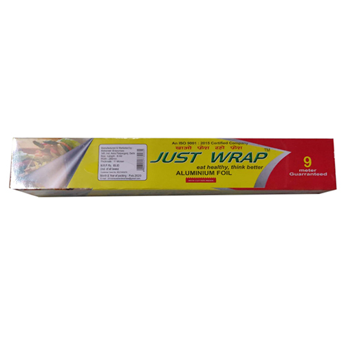 9 Meter Just Wrap Aluminium Foil