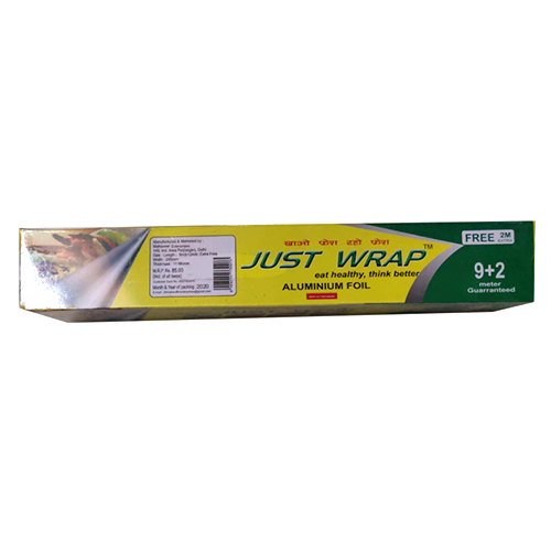 9 plus 2 Meter Just Wrap Aluminium Foil