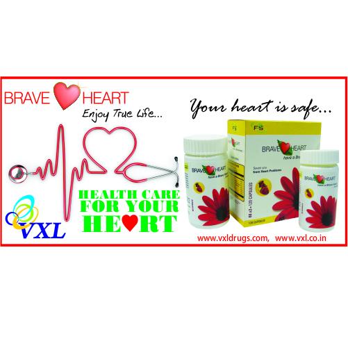 BRAVE HEART Cardiac Care Herbal Medicine