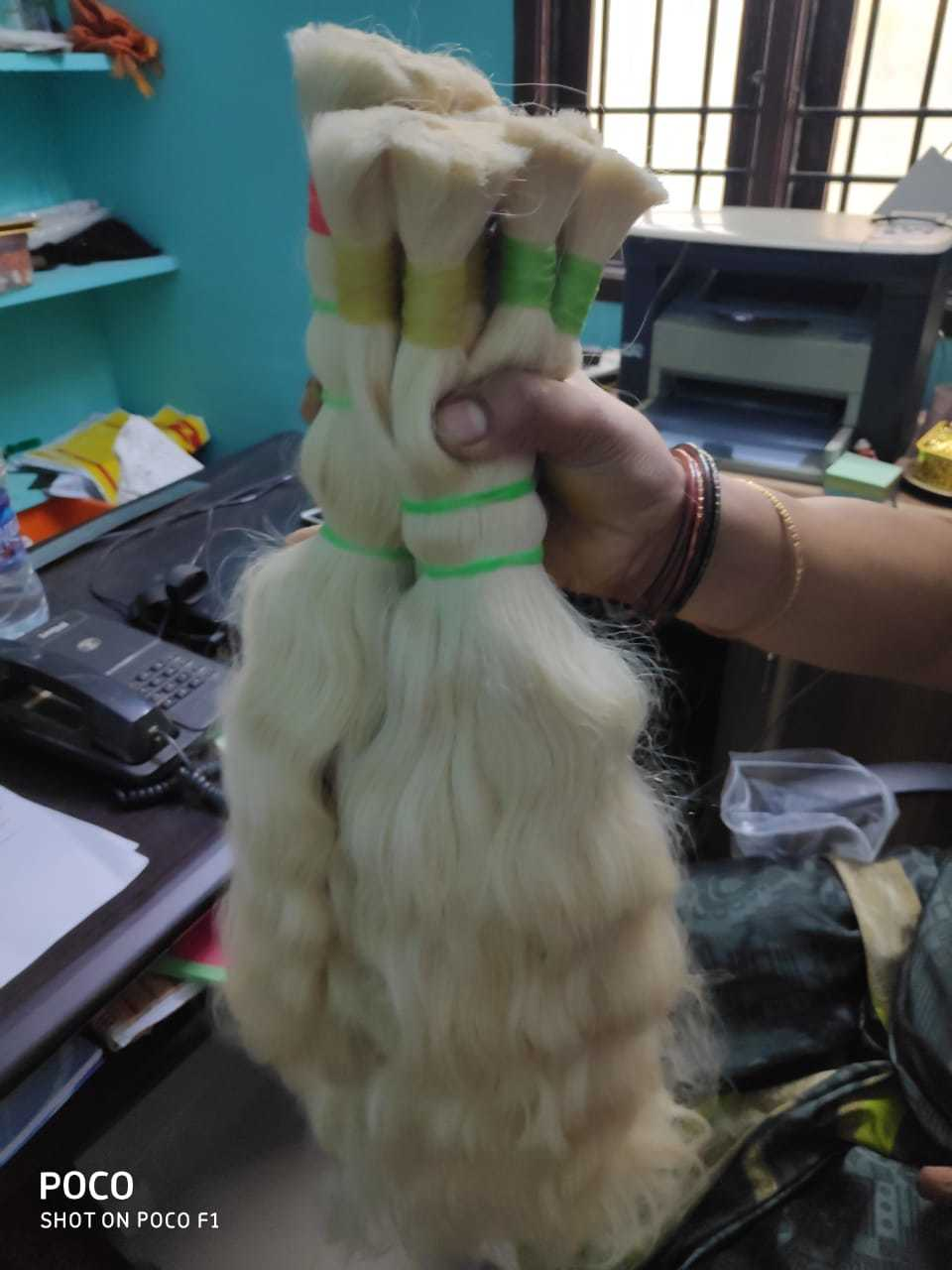 REMY INDIAN SINGLE DRAWN HAIR