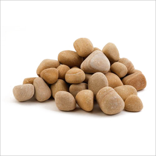 Golden Teak Pebbles Stone