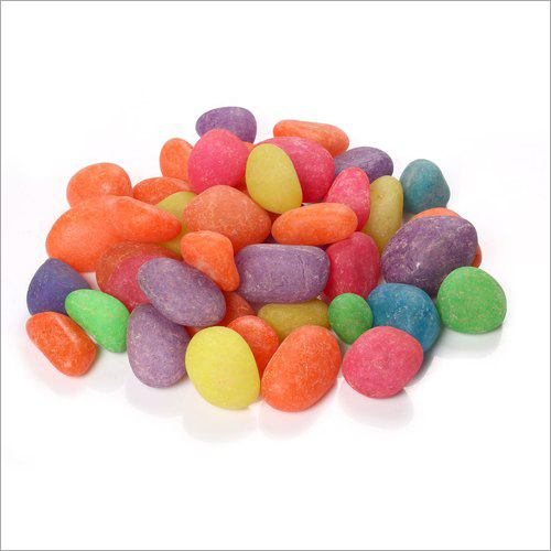 Multicolor Candy Pebbles Stone