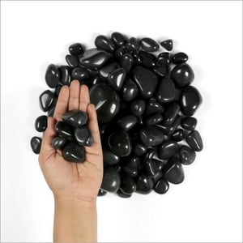 Jade Black Polished Pebbles Pebbles Stone