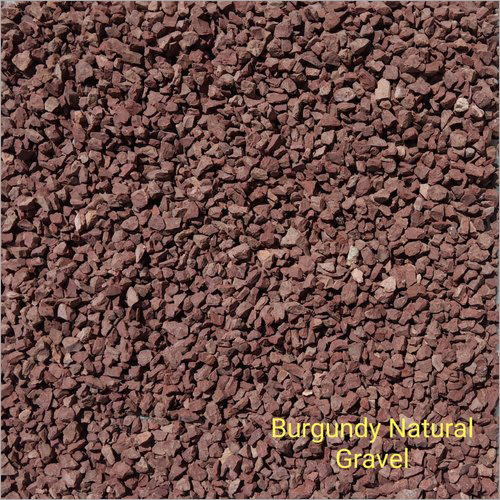 Burgundy Tumbled Gravel