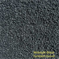 Midnight Black Tumbled Gravel