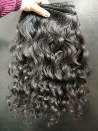 Natural Deep curly human hair