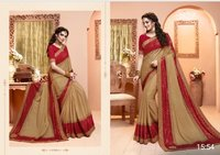 Lycra Designer Were Saree